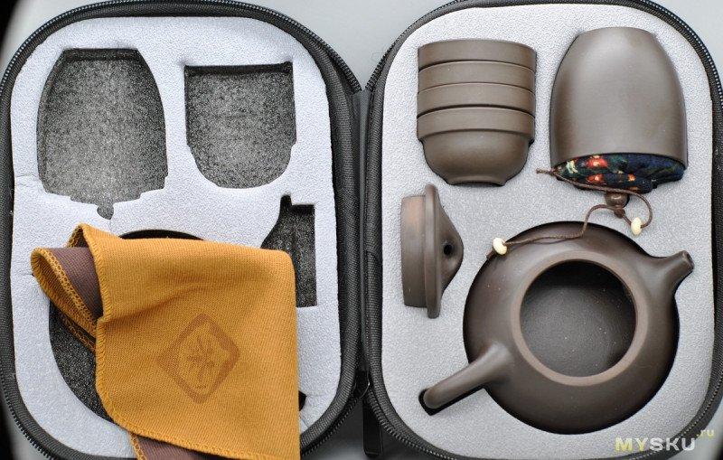 Походный чайный набор 8 предметов