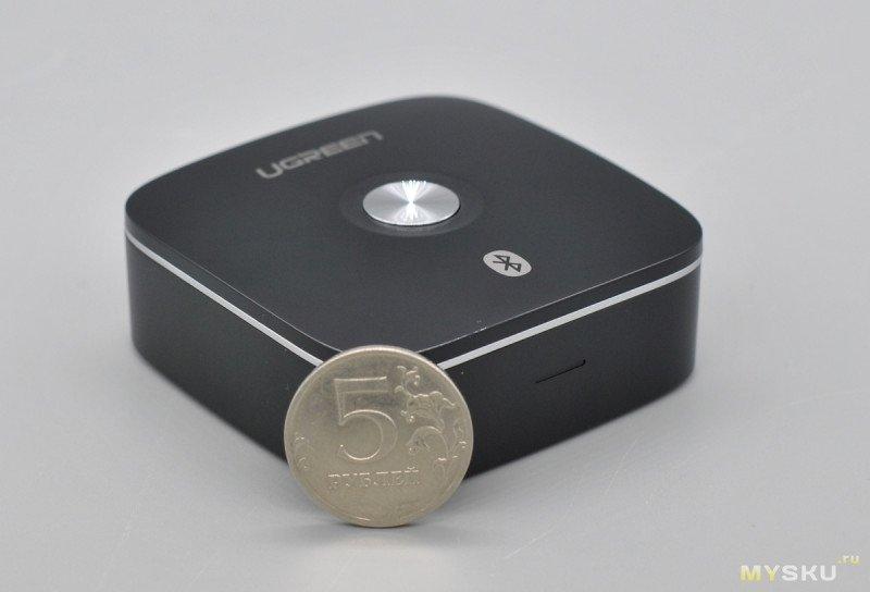 Bluetooth 5.0 Ресивер Ugreen 40759 с поддержкой aptX LL