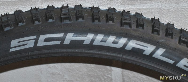 "Велопокрышка Schwalbe Nobby Nic Performance 26х2,25"""