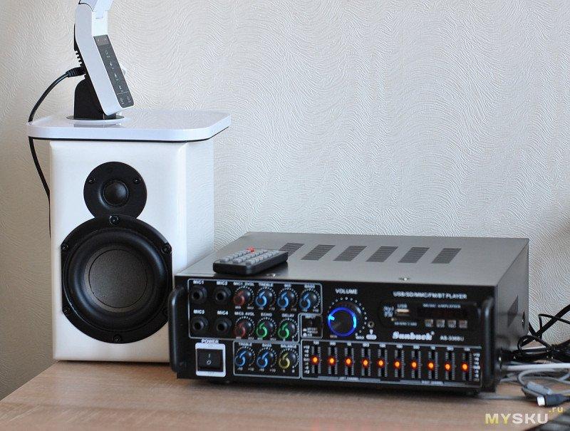 SUNBUCK AS-336BU Аудио усилитель все в одном