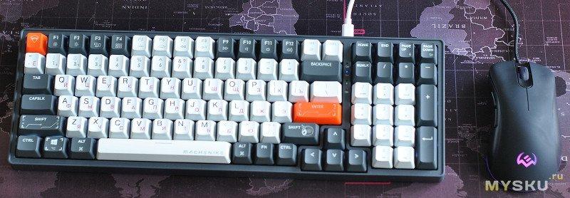 Механическая клавиатура Machenike K600