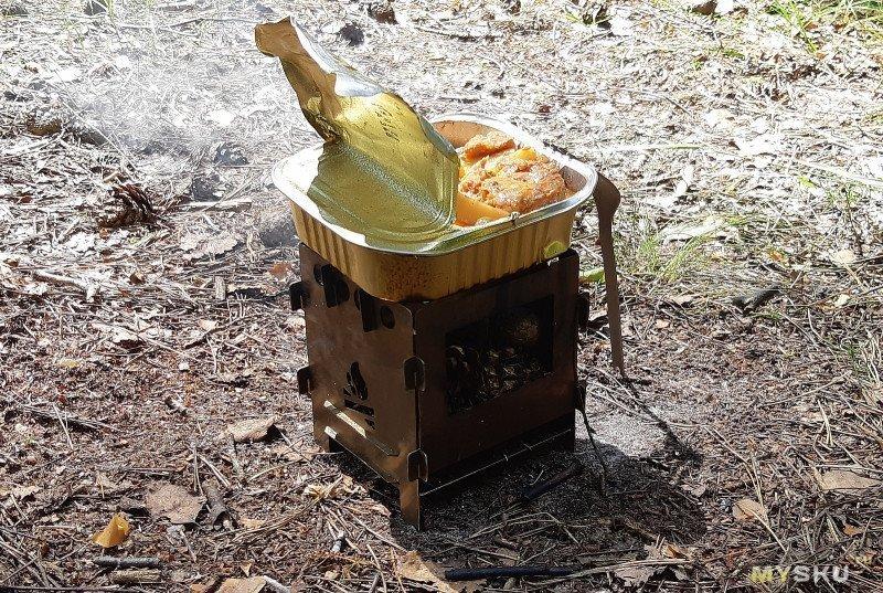 ♨ Ракетная печь IPRee: с автоподачей дров и клапаном