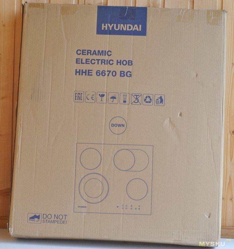 Варочная панель HYUNDAI HHE 6670 BG