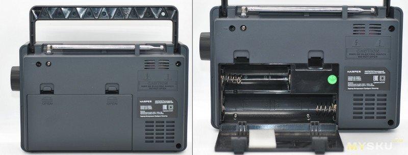 Радиоприемник Harper HDRS-099: дачный универсал