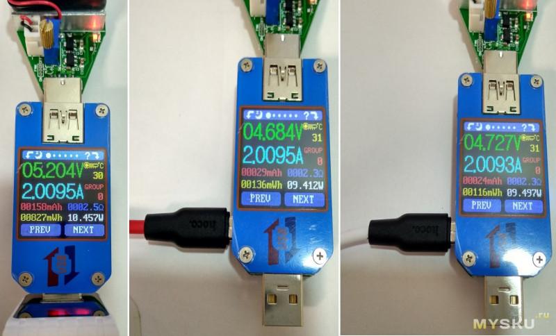 Силиконовый MicroUSB кабель от фирмы HOCO