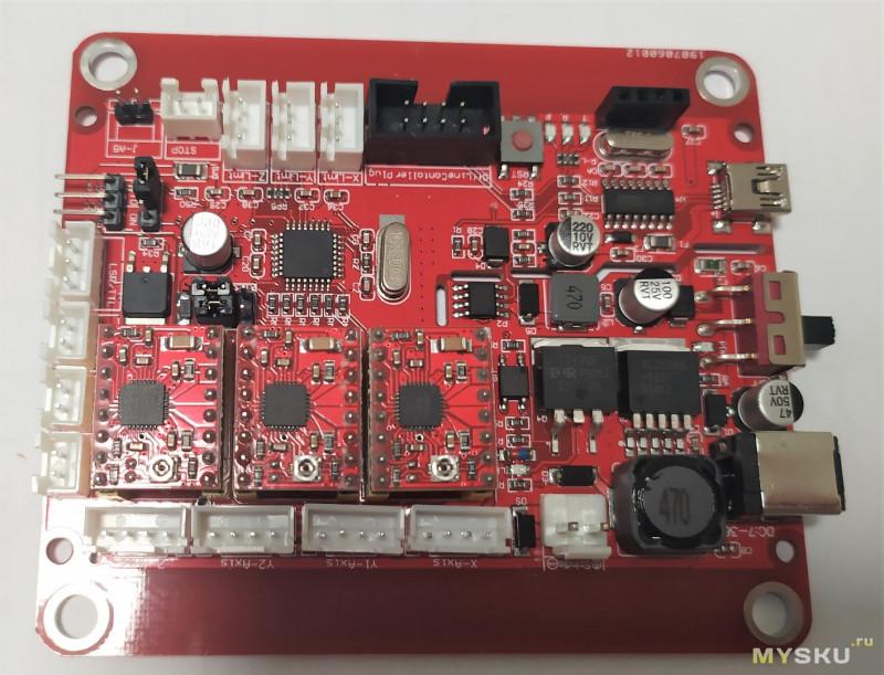 ЧПУ станок Alfawise C10 Pro (cnc 3018 pro)