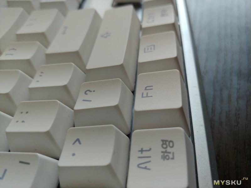 """ABKO Hacker K985P - клавиатура на емкостных """"свичах"""""""