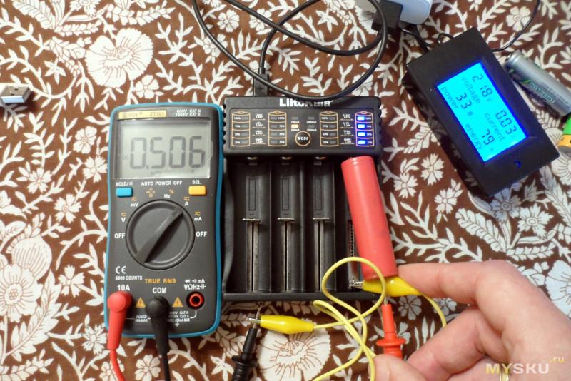 LiitoKala Lii-402 - зарядное устройство на 4 аккумулятора