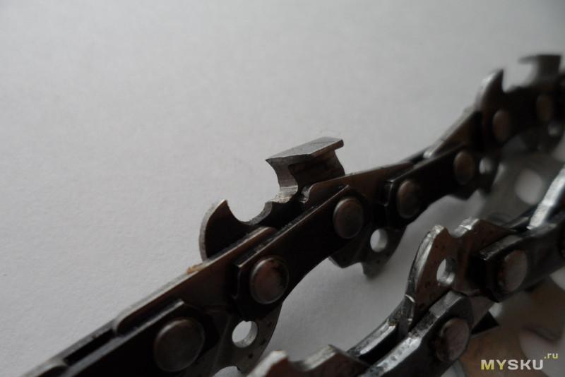 Насадка для заточки цепи пилы при помощи гравера