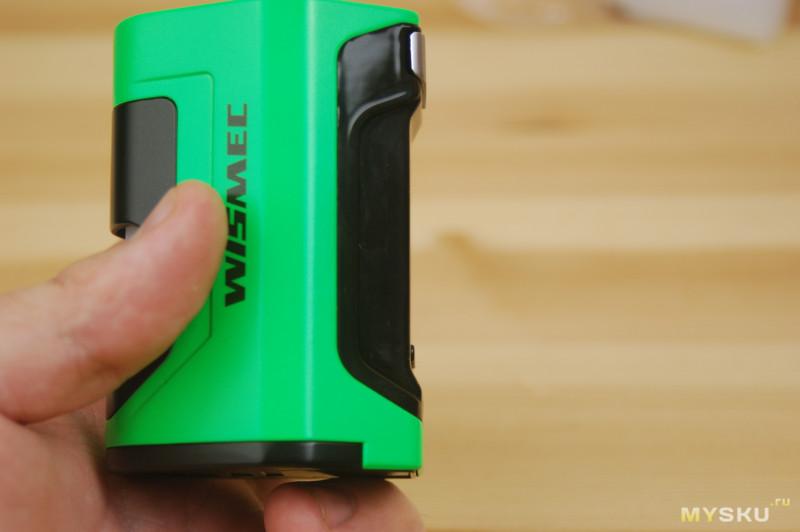 Электронная сигарета Wismec Luxotic DF 200W Kit with Guillotine V2 | Рыкса в режиме сквонка)
