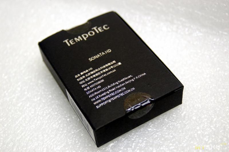 TempoTec Sonata HD | недорогой внешний цап для смартфона и ноутбука.
