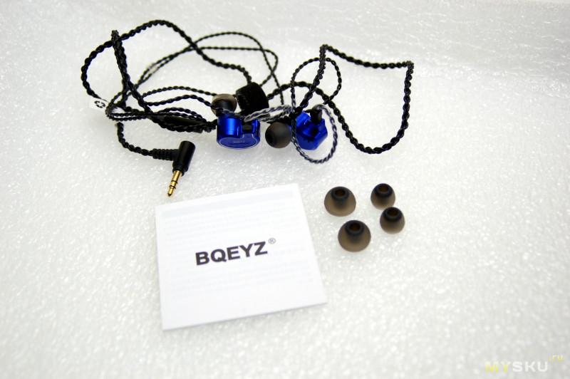 Гибридные наушники BQEYZ KB100 | BQEYZ снова удивили. Сравнение с Artiste DC1.