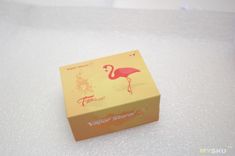 Дрипка для электронной сигареты Vapor Storm Flamingo RDA | осторожно Vape)