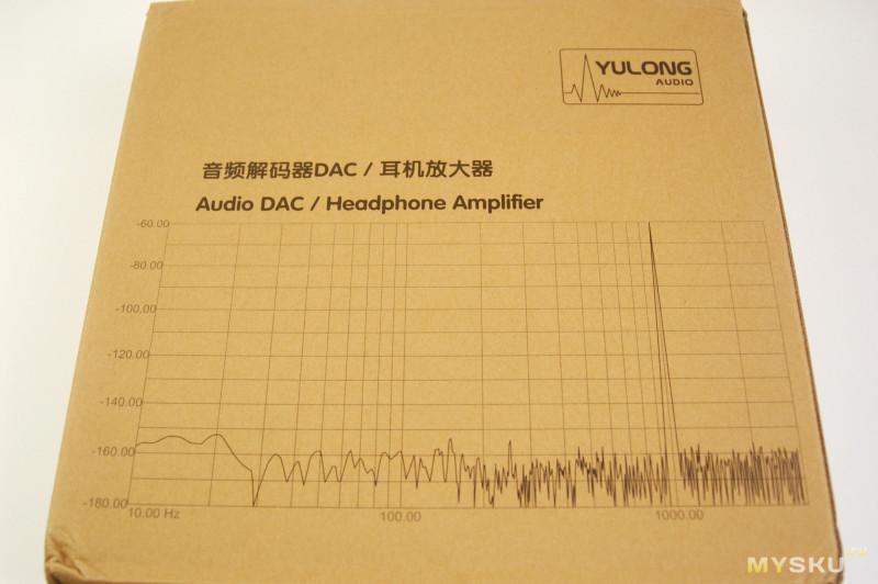 Настольный ЦАП с усилителем Yulong DAART Aquila