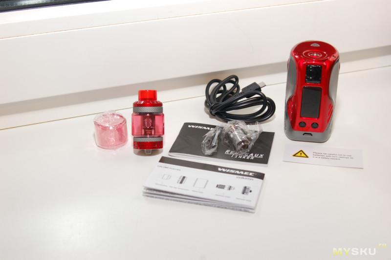 "Электронная сигарета ""Reuleaux Tinker with COLUMN Kit"" | новинка от компании Wismec"