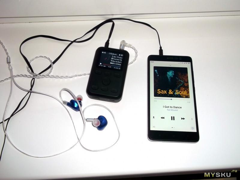 "Разборка ""Hi-Fi"" плеера ZIKU HD-X10"
