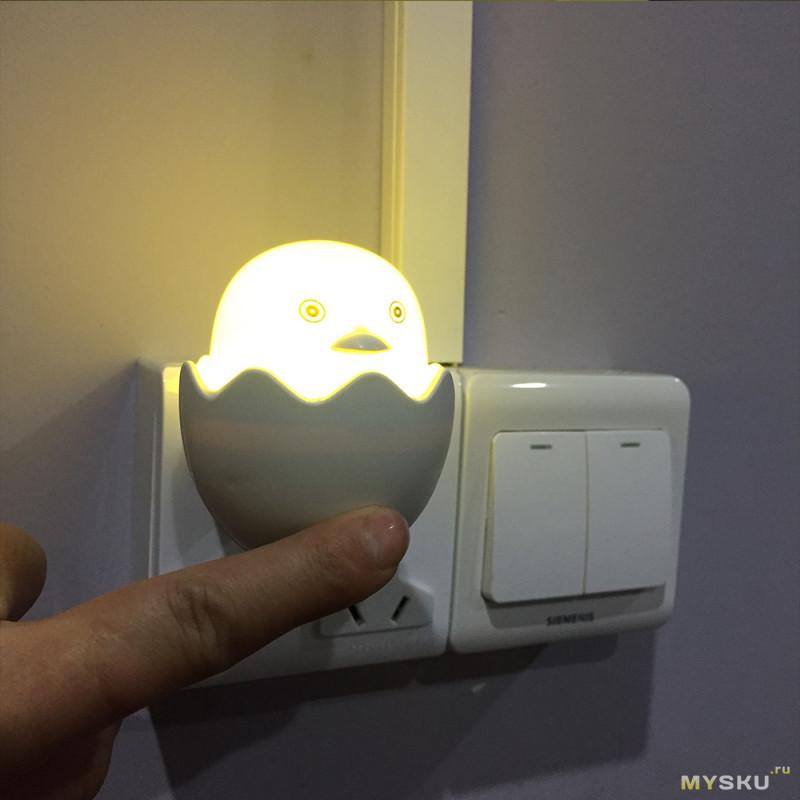Скидка на лампу ночник ($1.03-$1.15)