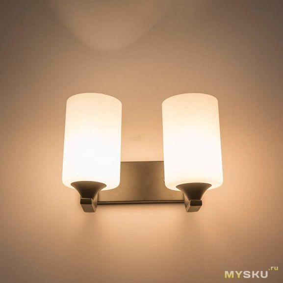 Скидка на настенный светильник