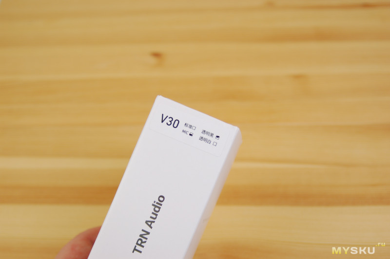 Очередные недорогие наушники от TRN - TRN V30