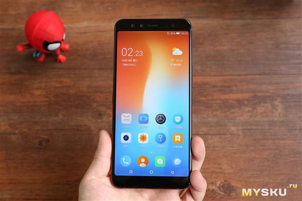 Смартфон Gome U7 4GB 64GB NFC 3050mAh за 70$