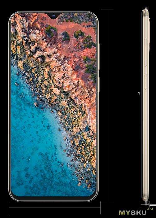 Смартфон Cubot X20 Pro 6+128GB. Цена с купоном $139.99