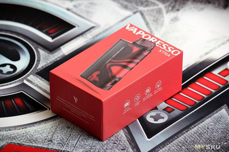 Электронная сигарета Vaporesso XTRA Pod Kit.