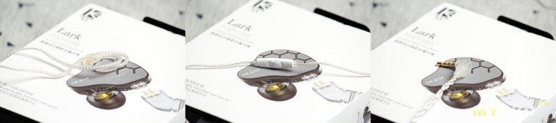 KBEAR Lark: годные гибридные наушники с нейтральным звучанием.