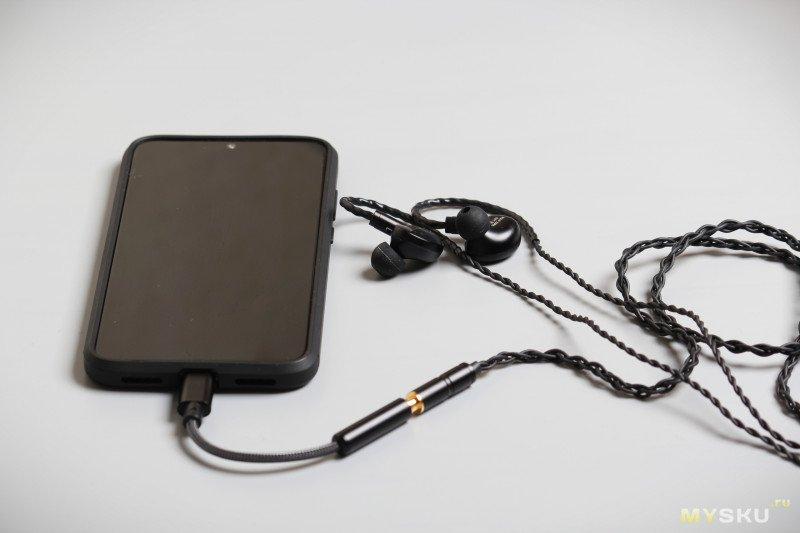 USB цап UC12 на кодеке Conexant и наушники вкладыши EP6