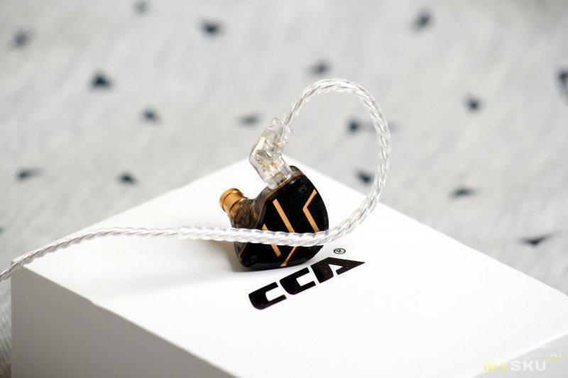 Гибридные наушники CCA C10 Pro