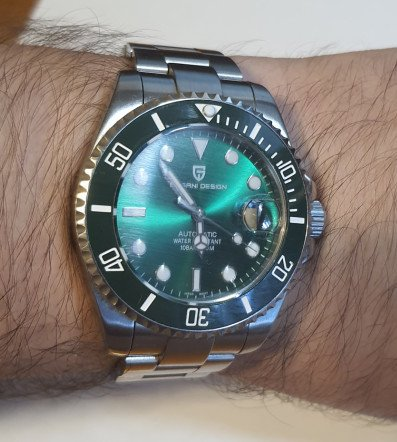 Часы Pagani Design PD-1639 - бюджетный подмариновник