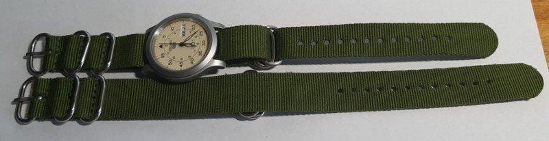 Нейлоновые ремешки для часов (NATO/ZULU)