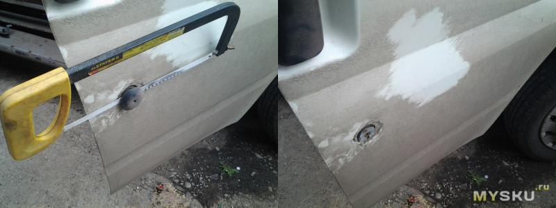 """Комплект """"личинок"""" замков на автомобиль  Ford Transit 2006- 2014 г.в."""