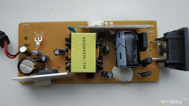 Зарядное устройство FOSTON 42V 1,5A