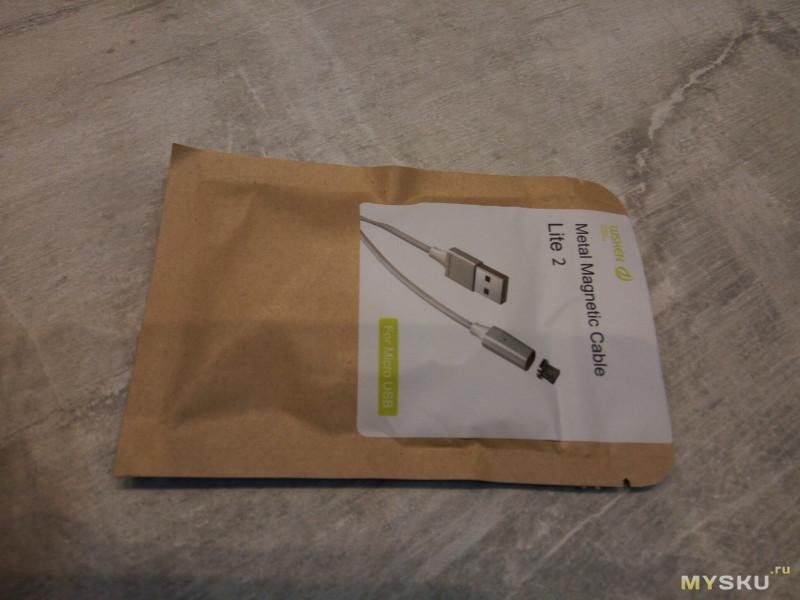 Быстрый обзор магнитного кабеля Wsken Lite 2 Micro USB