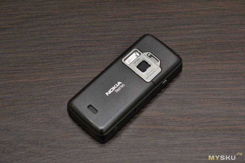 Ретро обзор и реставрация Nokia N82