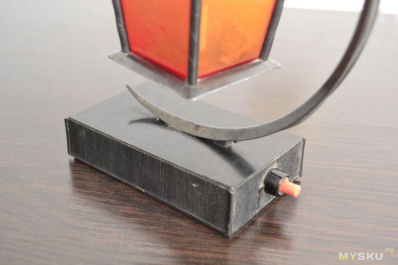 Восстановление и модернизация старого ночника