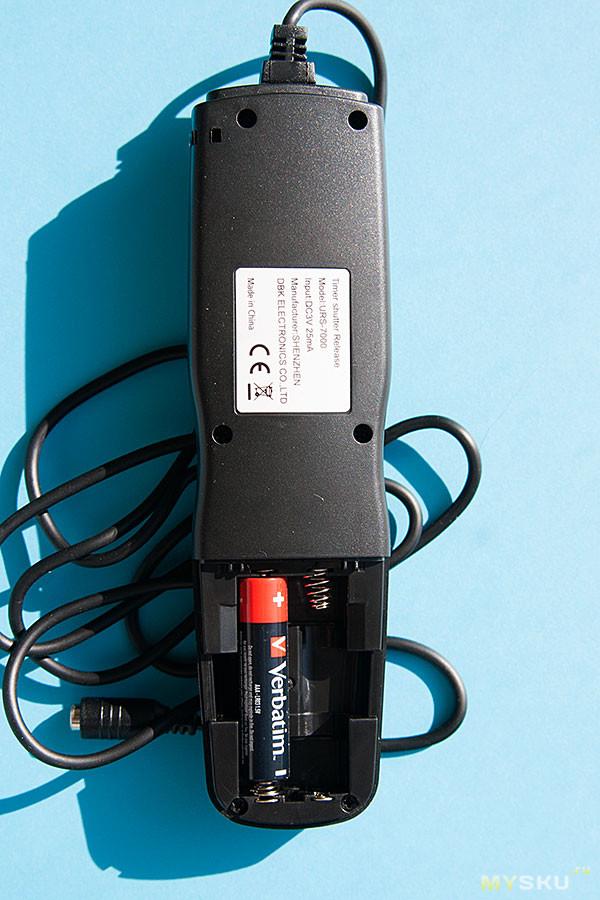Time Lapse проводной пульт  для Canon 40D