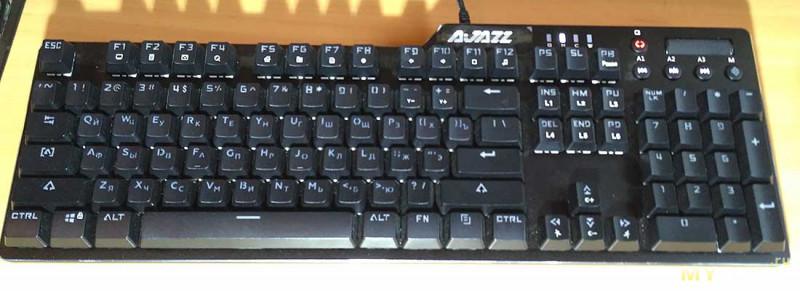 Клавиши для механической клавиатуры с кириллицей