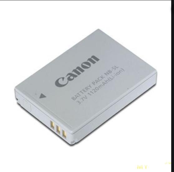 Зарядка для аккумулятора фотоаппарата Canon из корпуса для powerbank'а