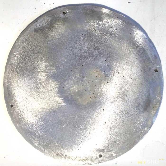 Готовим на алюминиевой сковороде на индукционной плите
