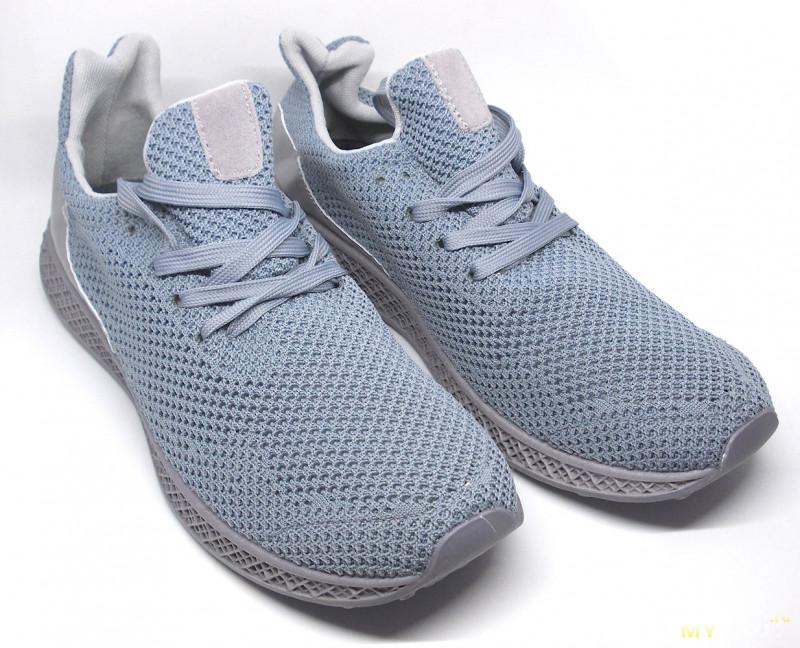 Сетчатые «вязаные» летние мужские кроссовки 34919b164bf