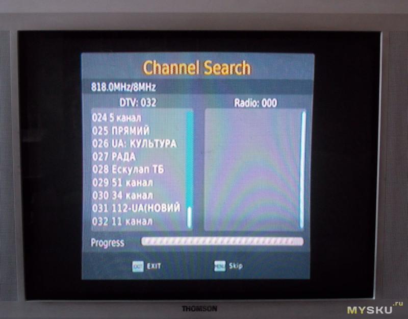 Домашняя антенна с усилителем HDTV024