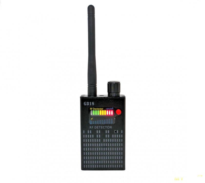 Ищем «жучки» и скрытые камеры: детектор сигнала WiFi и мобильных устройств G318