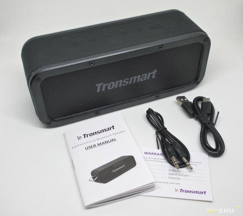 Блютуз-колонка Tronsmart Element Force с защитой IPX7