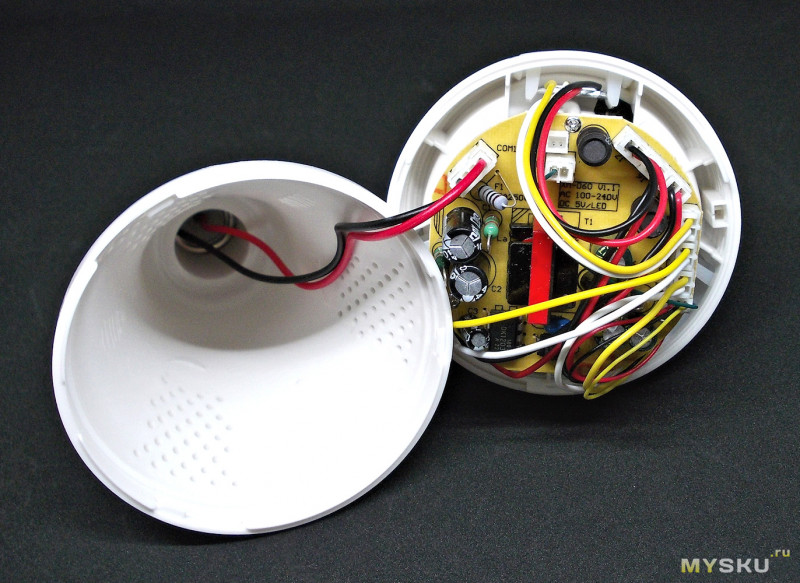 WiFi IP-камера 960P «рыбий глаз» в корпусе лампы E27