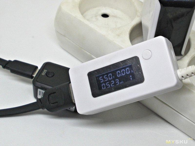Миниатюрный GPS/GSM трекер GF-09