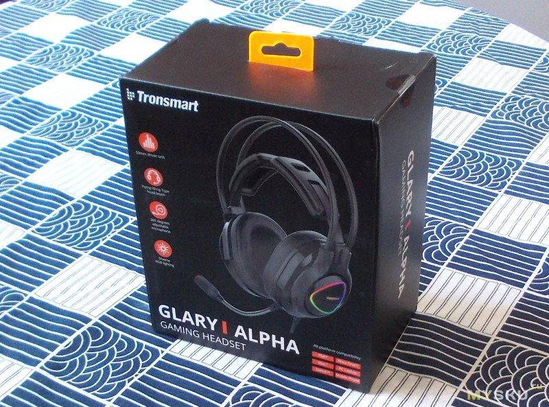 Игровые наушники Glary Alpha от Tronsmart