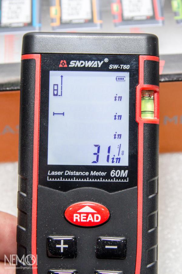 Электронный лазерный дальномер SNDWAY SW-T60. Разрушаем мифы