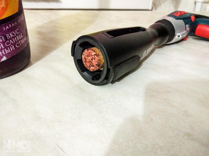 Насадка-штопор для электроотвертки Bosch IXO 3. Расширяем функционал. Миниобзор 18+