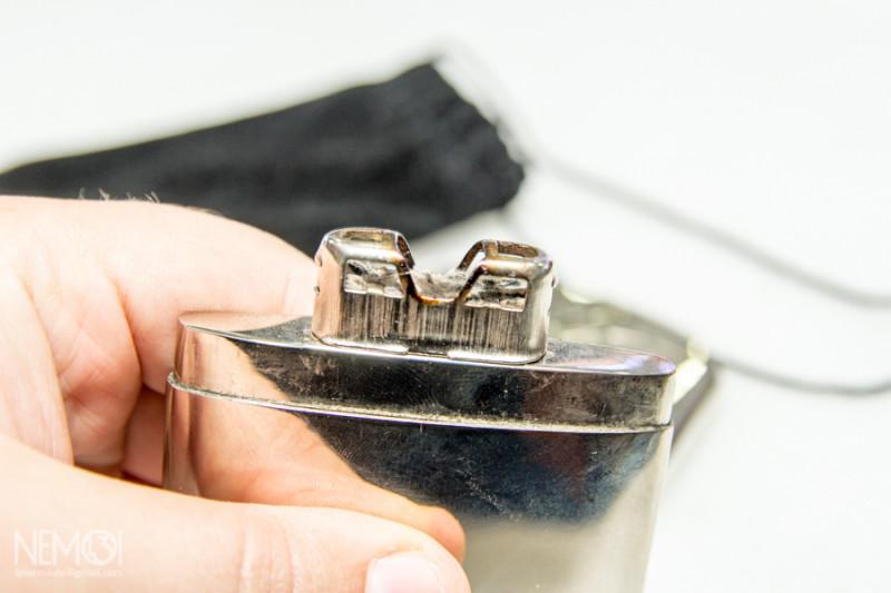 Китайская карманная каталитическая грелка спустя два года использования